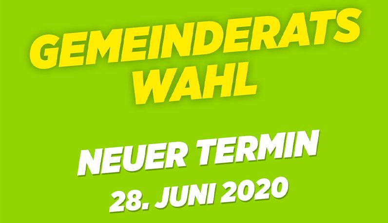 Neuer Termin für Gemeinderatswahl 2020